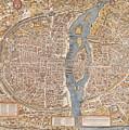 Map Paris by Mouad Martil