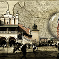 Map To Krakow Globe by Sharon Popek