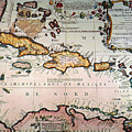 Map: West Indies by Granger