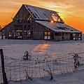 Mapleton Barn by Wesley Aston