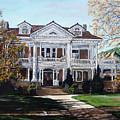 Mapleton Hill Homestead by Tom Roderick