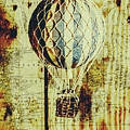 Mapping A Hot Air Balloon by Jorgo Photography - Wall Art Gallery