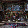 Maramures Romania Church Interior by Stuart Litoff
