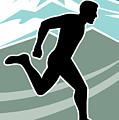 Marathon Runner by Aloysius Patrimonio