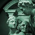Marble Statue Catus 1 No. 2 H B by Gert J Rheeders