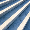 Marble Steps, Jefferson Memorial, Washington Dc, Usa, North America by Paul Edmondson