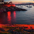 Marblehead Harbor Illumination 2017 Chandler Hovey by Toby McGuire