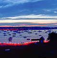 Marblehead Illumination In Panoramic by Jeff Folger