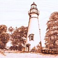 Marblehead Lighthouse by Danette Smith