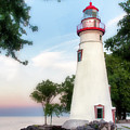 Marblehead Lighthouse II by William Beuther