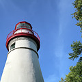 Marblehead Lighthouse In Ohio by Ann Horn