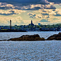 Marblehead Points To The Ocean by Jeff Folger