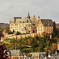 Marburg Castle Germany H B by Gert J Rheeders