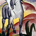 Marc: Grey Horse, 1911 by Granger