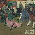 "Marcelle Lender Dancing The Bolero In ""chilp?ric"" by Henri De Toulouse-lautrec"
