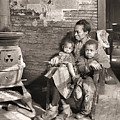 March 1937 Scott's Run, West Virginia Johnson Family. by Lewis Hine Presented by Joy of Life Art