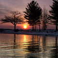 March Sunrise At Detroit Point by Ron Wiltse