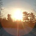 March Sunrise Circle by Kent Lorentzen