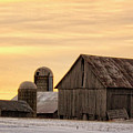 March Sunrise On The Farm by Peg Runyan