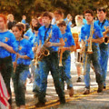 Marching Band - Junior Marching Band  by Mike Savad
