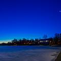 Marcy Casino Winter Twilight by Chris Bordeleau