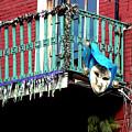 Mardi Gras Balcony by Kathy K McClellan