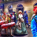 Mardi Gras Craziness by Mark  Pritchard