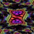 Mardi Gras Fractal by Tim Allen