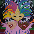Mardi Gras In Colour by Angelo Thomas