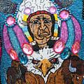 Mardi Gras Indian Apron Detail by Michael Neustadt