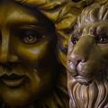 Mardi Gras Lion by Garry Gay