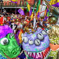 Mardi Gras Mob by Alex Demyan