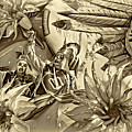 Mardi Gras - New Orleans 3 - Sepia by Steve Harrington