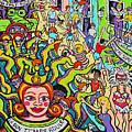 Mardi Gras - Throw Me Something Mister by Rebecca Korpita