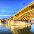 Margaret Bridge Budapest by David Pyatt