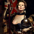 Margaret Thatcher Nude by Karine Percheron-Daniels