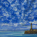 Margate Sea And Sky by Wendy Le Ber