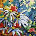 Marguerites by Richard T Pranke