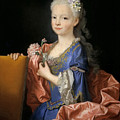 Maria Anna Victoria Of Bourbon. The Future Queen Of Portugal by Jean Ranc