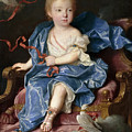 Maria Antonia Fernanda De Borbon. Infanta Of Spain. Future Queen Of Sardinia by Jean Ranc