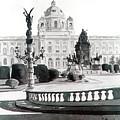 Maria Theresien Platz by Johannes Margreiter