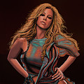Mariah Carey Painting by Paul Meijering