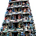 Mariamman Temple 1 by Randall Weidner
