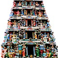 Mariamman Temple 3 by Randall Weidner