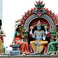 Mariamman Temple Detail 4 by Randall Weidner