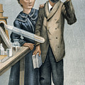 Marie And Pierre Curie by Granger