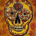 Marigold Skull by Gitta Brewster