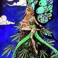 Marijuana Fairy by Carolyn Anderson