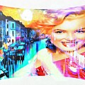 Marilyn In Italy by Catherine Lott