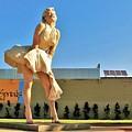 Marilyn In Palm Springs by Lisa Dunn